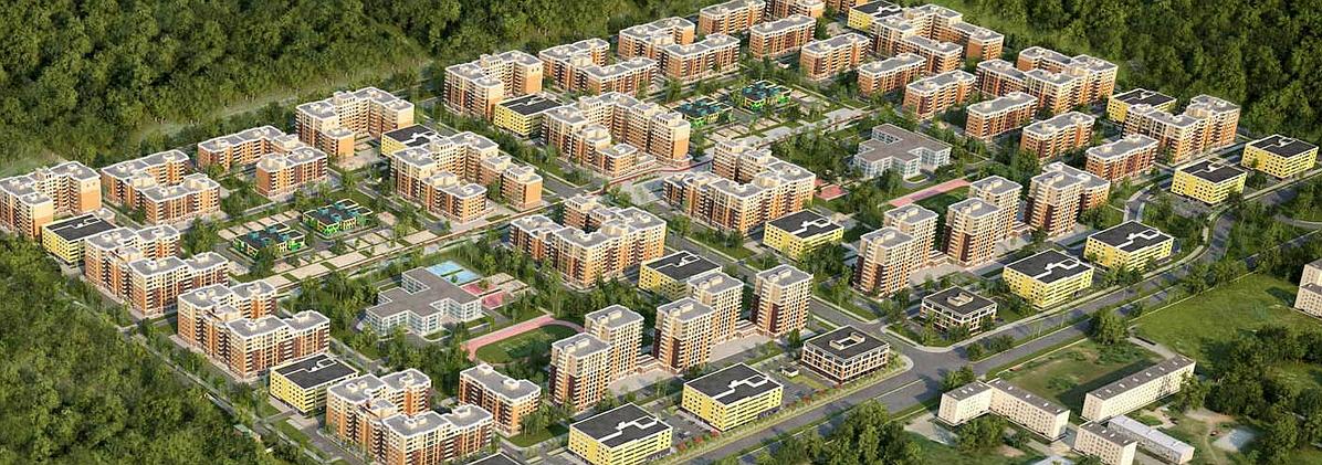 План застройки кварталов на